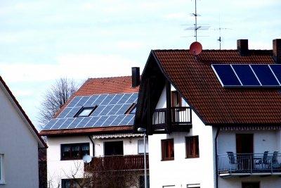 Solaranlagen werden oft subventioniert.