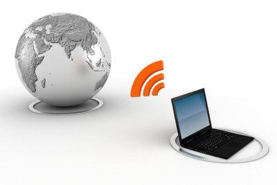 Es gibt unterschiedliche Internetverbindungen.