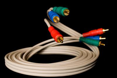 TV-Kabel haben zwei unterschiedliche Steckeranschlüsse.