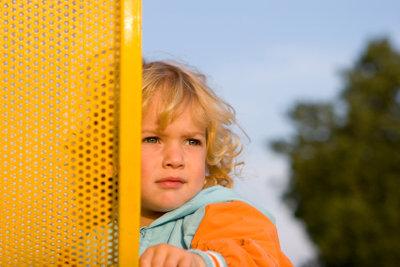 Manche Kinder möchten nicht in den Kindergarten.