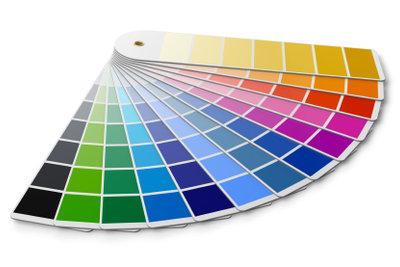 Ein gradueller Unterschied lässt sich bei Farben besonders gut erkennen.