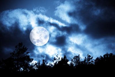 Mondaufgang bei Vollmond