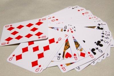 Die typischen Spielkarten für Doppelkopf