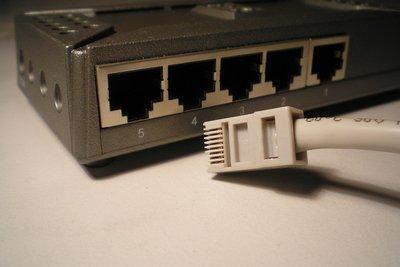Netzwerkaufbau mithilfe eines Switchs