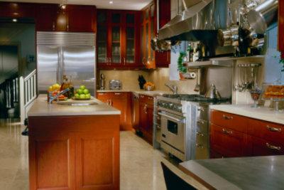 Hochglanz-Küchen sollten immer sauber sein.