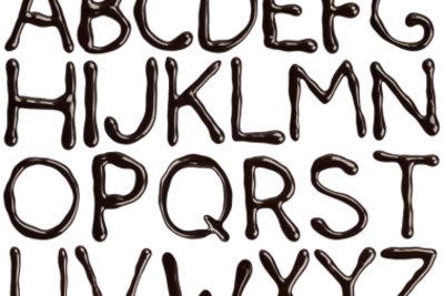 Das Alphabet besteht aus Selbstlauten und Mitlauten.