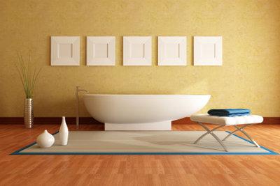 PVC eigent sich auch fürs Bad.
