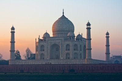 Eines der schönsten Bauwerke der Welt: Indiens Taj Mahal
