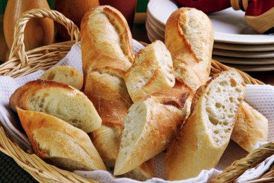 Schon zum Frühstück wird in Frankreich Baguette serviert.