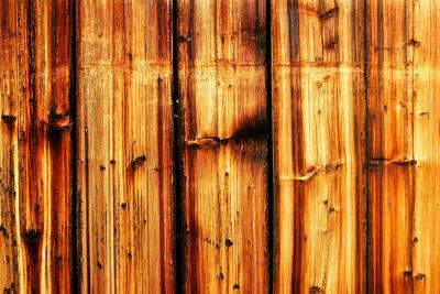 Schönes Holz ohne Schimmel