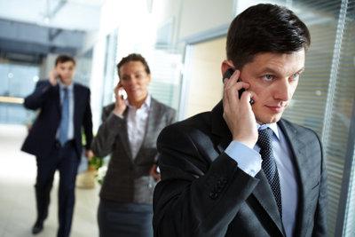Der Marketing-Manager hat einen verantwortungsvollen Arbeitsbereich.