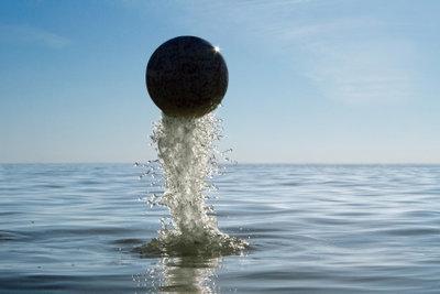 Ein Meer aus Wassertropfen