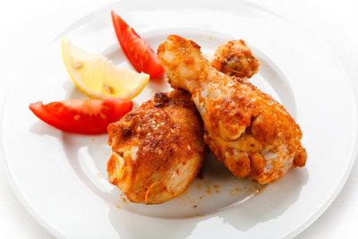 Hähnchen ist lecker und kalorienarm.