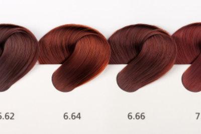Wählen Sie die passende Haarfarbe zum passenden Hauttyp.