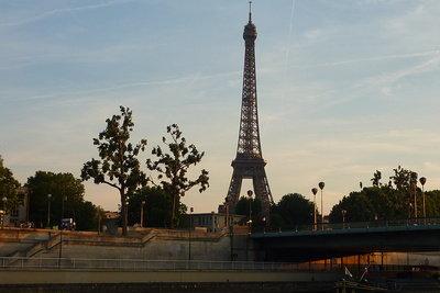 Paris ist auch in der Weihnachszeit ein romantischer Ort.