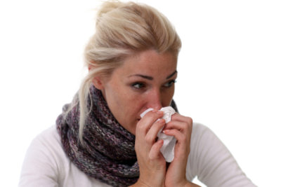 Bei verstopfter Nase kommt es zum Geschmacksverlust.