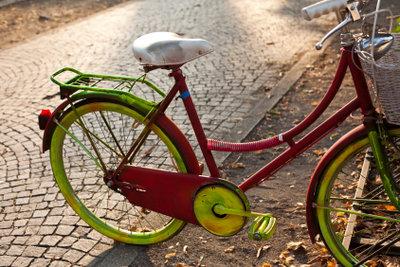 Ein Fahrrad zu verschönern, ist oft nicht schwer.