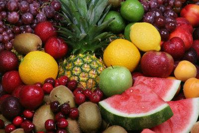 Früchte schmecken auch kandiert.