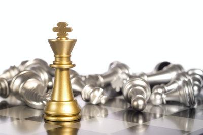 Gewinnen Sie die Schachpartie.