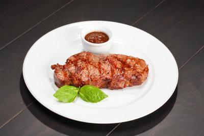 Ein Entrecôte-Steak ist das Highlight auf jedem Teller