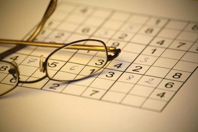 Sudoku ist ein Spiel, das die Konzentration fördert.