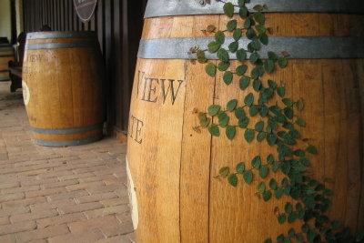Vom Büttner gefertigt - Holzfass als Wasser- oder Weinbehälter