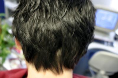 Mit neuem Haarschnitt zur Lässigkeit