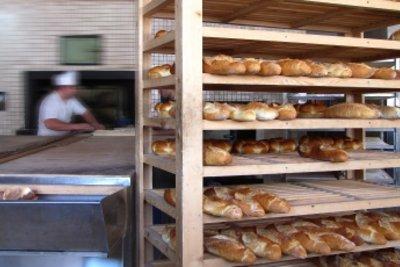 In Teilzeit oder als Aushilfe in der Bäckerei arbeiten.