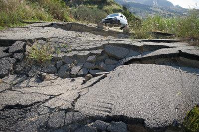 Erdbeben sind eine Folge der Plattentektonik.