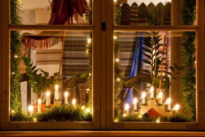 Der Schwibbogen - eine hübsche Fensterdekoration mit Tradition
