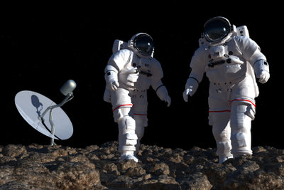 Viele Leute zweifeln an der Echtheit der ersten Mondlandung.