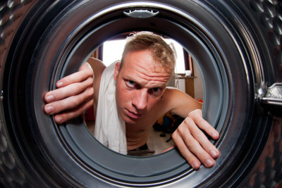 Was ist mit der Waschmaschine los?