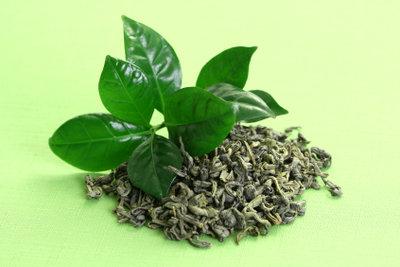 Grüner Tee ist sehr gesund.