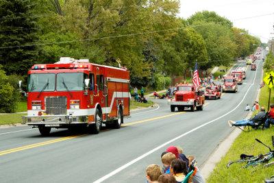 Jede Sekunde zählt - die Feuerwehr braucht freie Fahrt.