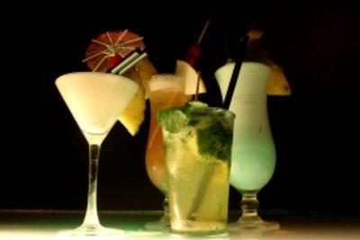 Cocktails mit Batida de Coco sind lecker.