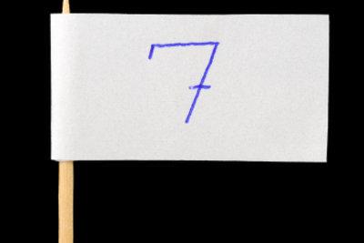 Teilbarkeit durch 7 prüfen