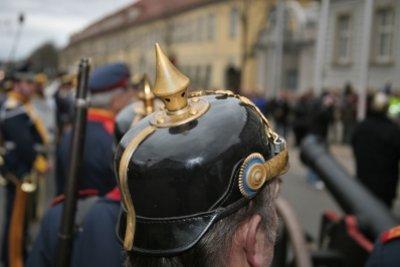 Die Pickelhaube - ein Symbol für den Militarismus zu Zeiten Bismarcks