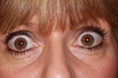Ihre Einstellung ist wichtiger als das tatsächliche Aussehen der Augen.