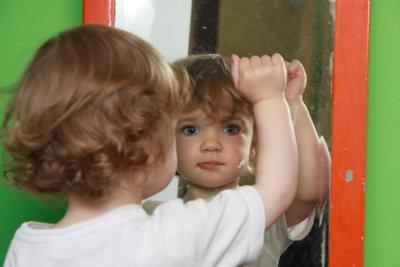 Ein Spiegel kann nützlich sein.