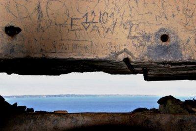 Besichtigen Sie doch einmal einen alten Bunker.