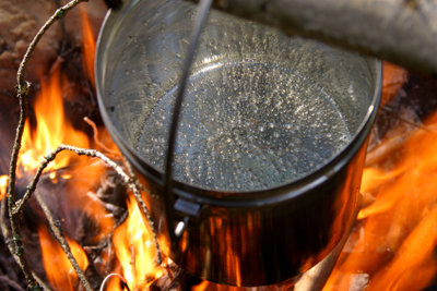 Wann Wasser kocht, hängt vom Luftdruck ab.