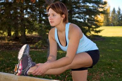 Mit gesunder Oberschenkelmuskulatur macht Sport Spaß.