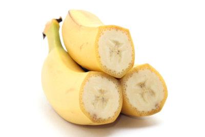 Bananen sind ein wichtiger Kalium-Lieferant.