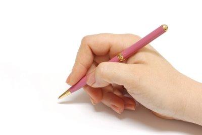 Schreiben gehört zur Schule dazu.