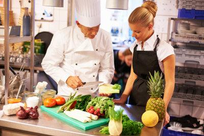 Koch gehört auch zu den gut bezahlten Ausbildungsberufen.
