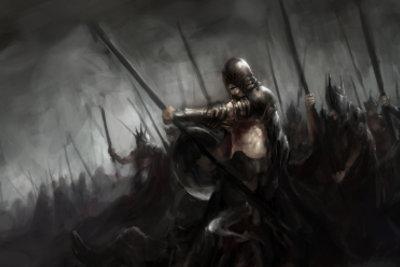 Der Krieger ist eine mächtige Nahkampfklasse.