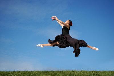 Hartes Training gehört zum Ballett dazu.