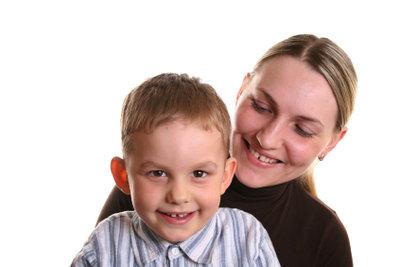 Manche Kinder fühlen sich bei Mama wohler.