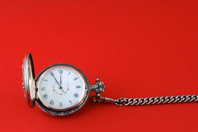 Nicht nur Taschenuhren sind mechanisch.