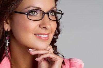 An eine Brille muss man sich gewöhnen.
